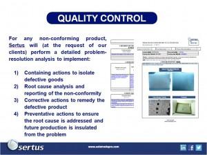 China Procurement Quality Control