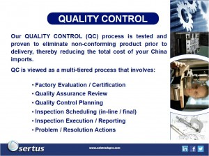 China Product Quality Control