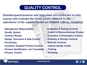 China Product Quality Control Standards